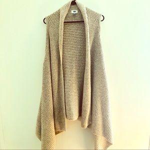 Old Navy Sleeveless Knit Cardigan